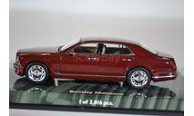 Bentley MULSANNE - 2010 - RED METALLIC, масштабная модель, Minichamps, scale43