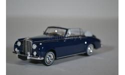 BENTLEY S2 CABRIOLET 1960 Blue, масштабная модель, Minichamps, scale43