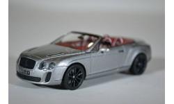 Bentley CONTINENTAL SUPERSPORTS CABRIOLET - 2010, масштабная модель, Minichamps, 1:43, 1/43