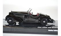 Audi FRONT 225 ROADSTER BLACK 1935, масштабная модель, Minichamps, 1:43, 1/43