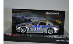 Mercedes-Benz SLS AMG GT3 - Tiger-Schmersal-Geulen-Frers - 24h Nürburgring 2011, масштабная модель, Minichamps, 1:43, 1/43