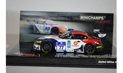 BMW Z4 GT3 - Buchardt, Mayes, Posavac, Sorlie - 24h ADAC Nürburgring 2010, масштабная модель, Minichamps, 1:43, 1/43