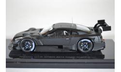 NISSAN GT-R GT500 Shake Down 2014 черный матовый, масштабная модель, Ebbro, scale43