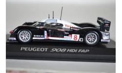 Peugeot 908 Le Mans 2007, масштабная модель, Norev, scale43