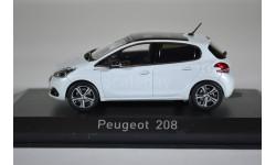 PEUGEOT 208 (рестайлинг) 2015 белый