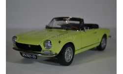 FIAT 124 SPIDER BS1 1970, YELLOW