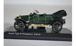 Audi Typ A Phaeton 1910 green, масштабная модель, Minichamps, scale43