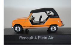 RENAULT R4L Plein Air 1968 оранжевый, масштабная модель, Norev, 1:43, 1/43