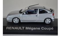 RENAULT Mégane Coupé 2001 Silver, масштабная модель, Norev, scale43