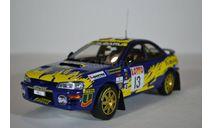 Subaru Impreza 1996 555 #13 P.BourneG.Vincent Rally Australia, масштабная модель, Sunstar, 1:18, 1/18