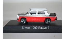 SIMCA 1000 Rallye 2 SRT 1977 белый красный