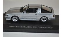 Mitsubishi Starion GSR-VR 1988 Silver, масштабная модель, AOSHIMA, 1:43, 1/43