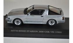 Mitsubishi Starion GSR-VR 1988 Silver, масштабная модель, AOSHIMA, scale43