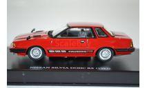 Nissan SILVIA DOHC RS EXTRA (S110) 1982 RED, масштабная модель, AOSHIMA, scale43