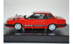Nissan SILVIA DOHC RS EXTRA (S110) 1982 RED, масштабная модель, AOSHIMA, scale43