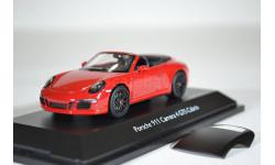 PORSCHE 911 Carrera 4 GTS Convertible (991) 2014 Red, масштабная модель, Schuco, 1:43, 1/43
