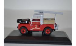LAND ROVER 88 Fire Appliance British Rail 1955 (пожарный пикап), масштабная модель, Oxford, 1:43, 1/43