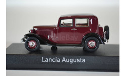 LANCIA Augusta 1939 красный черный, масштабная модель, Norev, scale43