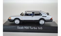 SAAB 900 Turbo 16S Coupe 1989 серебристый