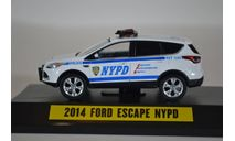 FORD Escape (Kuga) New York City Police Department (полиция Нью-Йорка) 2014, масштабная модель, Greenlight Collectibles, 1:43, 1/43