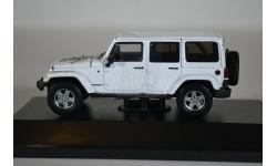 JEEP Wrangler 4х4 Unlimited Mojave Edition 5-дв.(Hard Top) 2011 Bright White, масштабная модель, Greenlight Collectibles, 1:43, 1/43