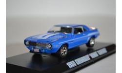 CHEVROLET Camaro 1969 (из кф Двойной Форсаж) Blue, масштабная модель, Greenlight Collectibles, 1:43, 1/43