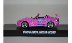 Honda S2000 Cabrio из кф 2 Fast 2 Furious (2003), масштабная модель, Greenlight Collectibles, scale43