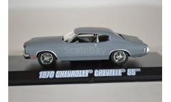 CHEVROLET Chevelle SS 1970 (из кф Форсаж IV) серый грунт, масштабная модель, Greenlight Collectibles, 1:43, 1/43