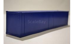 контейнер 40 футов окрашенный синий