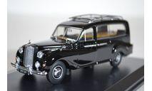 AUSTIN А125 Sheerline Hearse (катафалк) 1950 черный, масштабная модель, Oxford, 1:43, 1/43