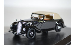 Armstrong SIDDELEY Hurricane (кабриолет c тентом) 1945 Black, масштабная модель, Armstrong-Siddeley, Oxford, scale43
