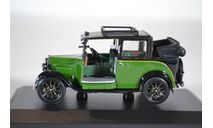 Austin Low Loader Taxi Green 1934 (с открытым тентом), масштабная модель, Oxford, 1:43, 1/43