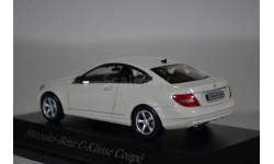 Mercedes-Benz C-Klasse Coupe C204 diamant-weiss-met, масштабная модель, Norev, 1:43, 1/43