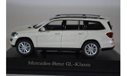 Mercedes-Benz GL-class 2012 X166 белый перламутр, масштабная модель, Norev, scale43