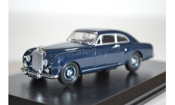 Bentley S1 Continental Fastback 1956 Dawn Blue, масштабная модель, Oxford, scale43