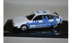 Citroen CX 1983 (SAD - Salon des Artiste Décorateurs) Blue, масштабная модель, Citroën, IXO, 1:43, 1/43