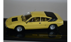 Lamborghini URRACO P250 1973 Yellow with Beige Inteirors, масштабная модель, IXO, 1:43, 1/43