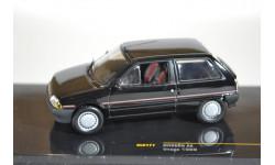 Citroen AX Image (serie speciale) 1989 Black, масштабная модель, IXO, scale43, Citroën