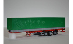 трёхосный полуприцеп МАЗ-9758 (зелёный)