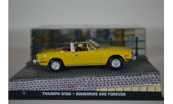 TRIUMPH Stag Diamonds Are Forever 1971, масштабная модель, Ge Fabbri, scale43