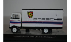 MERCEDES-BENZ LP 608 техничка PORSCHE Motor Sport 1970, масштабная модель, Premium Classixxs, scale43