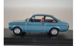 FORD Escort MK2 1975 голубой мет, масштабная модель, WhiteBox, 1:43, 1/43