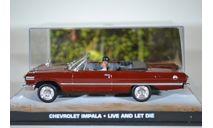 Chevrolet Impala Cabriolet James Bond Live And Let Die 1963, масштабная модель, Ge Fabbri, 1:43, 1/43