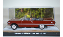 Chevrolet Impala Cabriolet James Bond Live And Let Die 1963, масштабная модель, Ge Fabbri, scale43