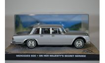 MERCEDES-BENZ 600 On Her Majestys Secret Service 1969, масштабная модель, Ge Fabbri, scale43
