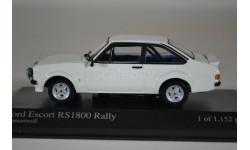 Ford ESCORT II RS1800 RALLY, масштабная модель, Minichamps, scale43