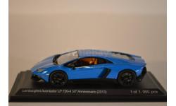 Lamborghini Avendator LP720-4 Anniversario (2013), масштабная модель, 1:43, 1/43, WhiteBox