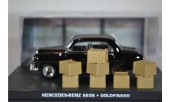 Mercedes-Benz 220S Goldfinger 1964, масштабная модель, Ge Fabbri, scale43