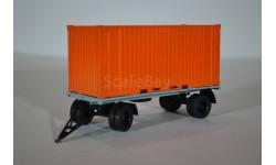 прицеп ГКБ-8350 с контейнером, масштабная модель, АИСТ+ КИТ AVD by SSM, 1:43, 1/43