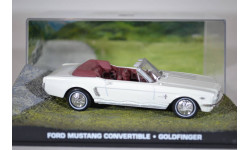 FORD Mustang Convertible Goldfinger 1964, масштабная модель, Ge Fabbri, scale43
